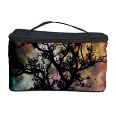 Full Moon Silhouette Tree Night Cosmetic Storage