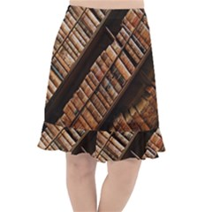 Books Bookshelf Classic Collection Fishtail Chiffon Skirt