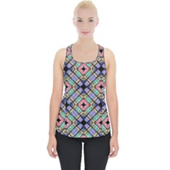 Pattern Wallpaper Background Abstract Geometry Piece Up Tank Top