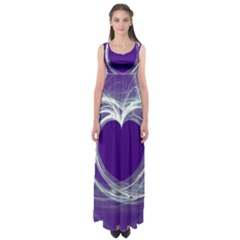 Heart Chakra Empire Waist Maxi Dress by Sankofa17