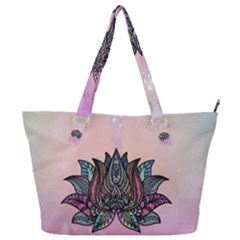 Abstract Decorative Floral Design, Mandala Full Print Shoulder Bag by FantasyWorld7