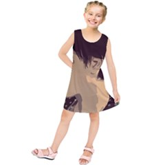 Punk Face Kids  Tunic Dress by snowwhitegirl