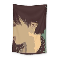Punk Face Small Tapestry by snowwhitegirl