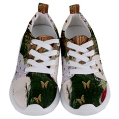 Vintage Llorona Collage Kids  Lightweight Sports Shoes