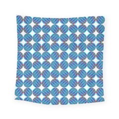 Geometric Dots Pattern Square Tapestry (small) by Jojostore