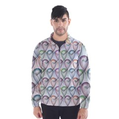 Valentine Hearts Men s Windbreaker