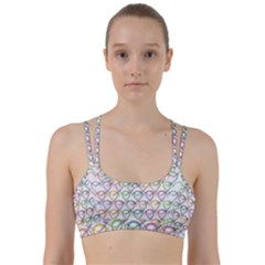 Valentine Hearts Line Them Up Sports Bra by HermanTelo