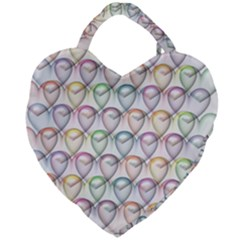 Valentine Hearts Giant Heart Shaped Tote