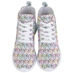 Valentine Hearts Women s Lightweight High Top Sneakers
