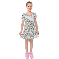 Zappwaits Iii Kids  Short Sleeve Velvet Dress by zappwaits