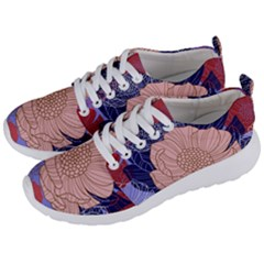 Fancy Tropical Floral Pattern Men s Lightweight Sports Shoes by tarastyle