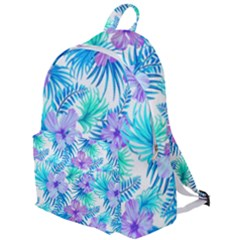Fancy Tropical Floral Pattern The Plain Backpack by tarastyle