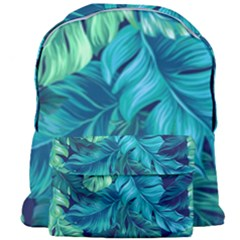 Fancy Tropical Floral Pattern Giant Full Print Backpack by tarastyle