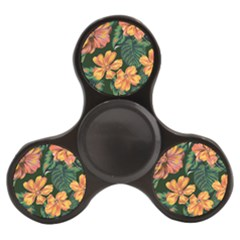 Fancy Tropical Floral Pattern Finger Spinner by tarastyle