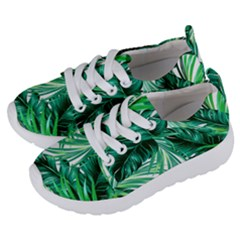 Fancy Tropical Floral Pattern Kids  Lightweight Sports Shoes by tarastyle