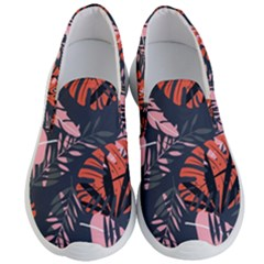 Fancy Tropical Floral Pattern Men s Lightweight Slip Ons by tarastyle