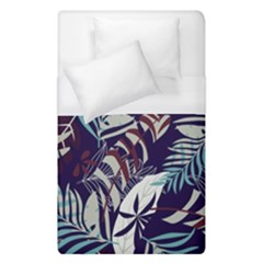 Fancy Tropical Floral Pattern Duvet Cover (single Size) by tarastyle