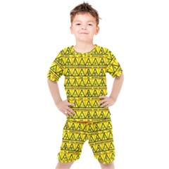 Emergency Kids  Tee And Shorts Set
