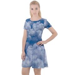 Photo Of Sky From The Sky Cap Sleeve Velour Dress