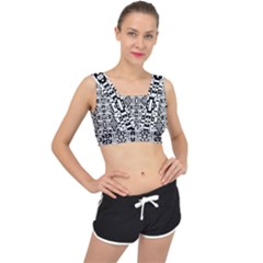 Bw 14 V Back Sports Bra
