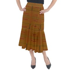 Hs Rby 7 Midi Mermaid Skirt