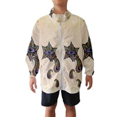 The Fantasy Eye, Mandala Design Kids  Windbreaker by FantasyWorld7