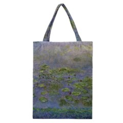 Claude Monet Nymph¨|as Waterlilies Classic Tote Bag by ArtMuseum
