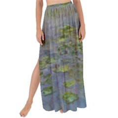 Claude Monet Nymph¨|as Waterlilies Maxi Chiffon Tie Up Sarong by ArtMuseum
