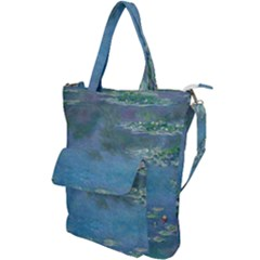 Waterlilies By Claude Monet Shoulder Tote Bag by ArtMuseum