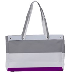 Asexual Pride Flag Lgbtq Canvas Work Bag by lgbtnation