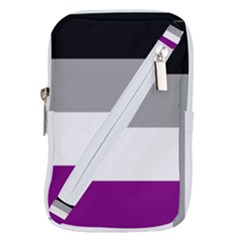 Asexual Pride Flag Lgbtq Belt Pouch Bag (small) by lgbtnation