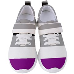 Asexual Pride Flag Lgbtq Women s Velcro Strap Shoes by lgbtnation