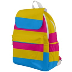Pansexual Pride Flag Top Flap Backpack by lgbtnation