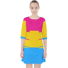 Pansexual Pride Flag Pocket Dress by lgbtnation