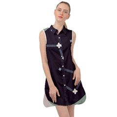 Celebrities Categories Universe Sky Sleeveless Shirt Dress
