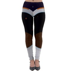 Astronaut Space Astronomy Universe Lightweight Velour Leggings