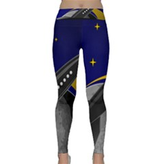 Science Fiction Sci Fi Sci Fi Logo Classic Yoga Leggings by Pakrebo