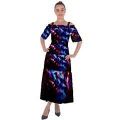 Science Fiction Sci Fi Forward Shoulder Straps Boho Maxi Dress