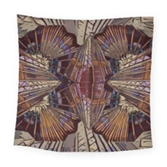 Abstract Design Backdrop Pattern Square Tapestry (large) by Pakrebo