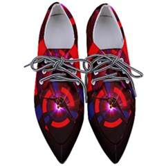 Science Fiction Cover Adventure Pointed Oxford Shoes