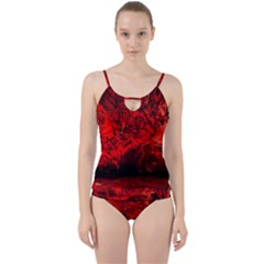 Planet Hell Hell Mystical Fantasy Cut Out Top Tankini Set