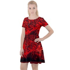 Planet Hell Hell Mystical Fantasy Cap Sleeve Velour Dress