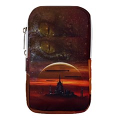 Science Fiction Digital Illustration Waist Pouch (small)