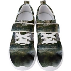 Sea Island Castle Landscape Men s Velcro Strap Shoes by Pakrebo