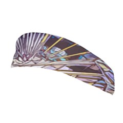Abstract Drawing Design Modern Stretchable Headband by Pakrebo