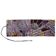 Abstract Drawing Design Modern Roll Up Canvas Pencil Holder (m) by Pakrebo