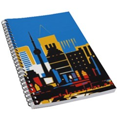 Architecture City House Window 5 5  X 8 5  Notebook