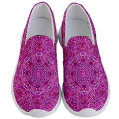 Flowering And Blooming To Bring Happiness Men s Lightweight Slip Ons by pepitasart