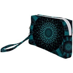 Ornament District Turquoise Wristlet Pouch Bag (small)