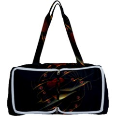 Fractal Digital Art Multi Function Bag